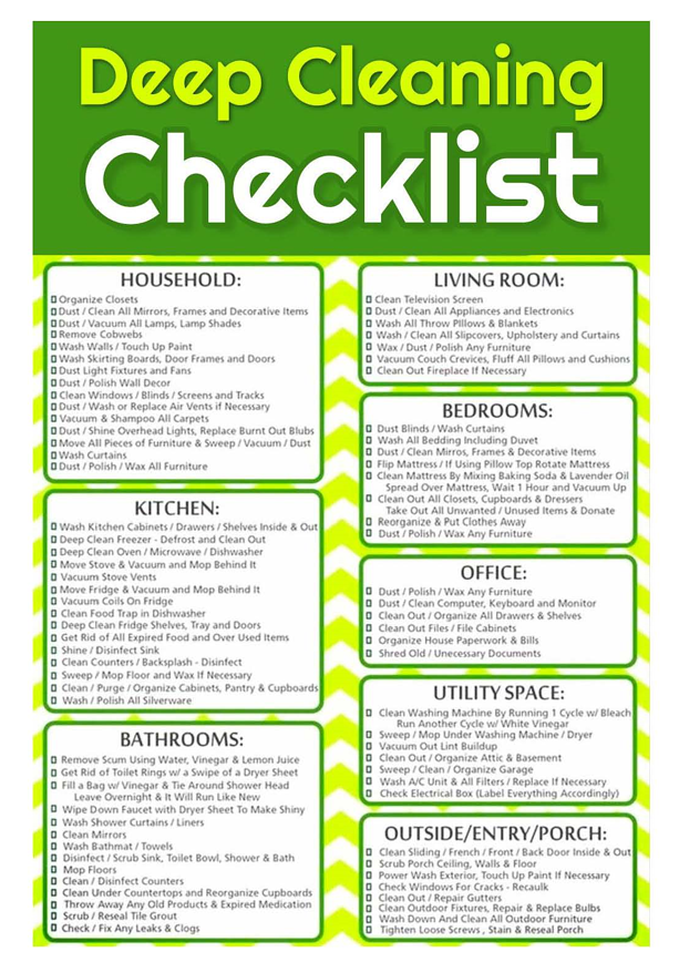 Deep-Cleaning-Checklist