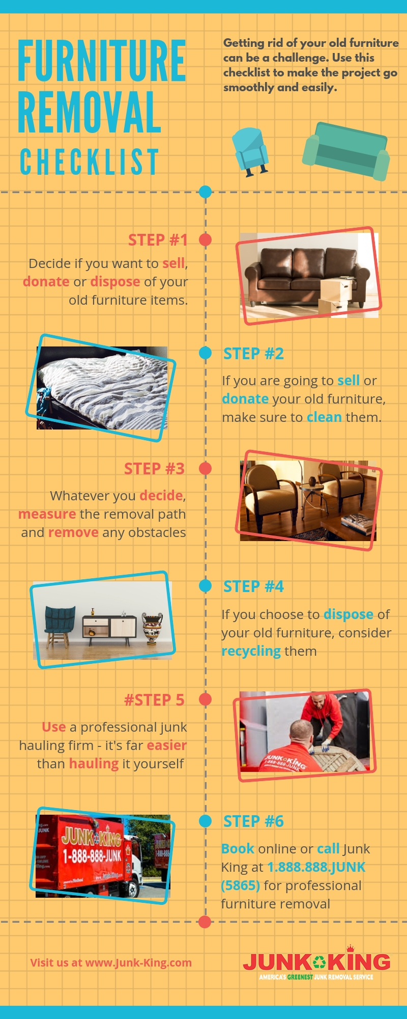 Furniture Removal Checklist