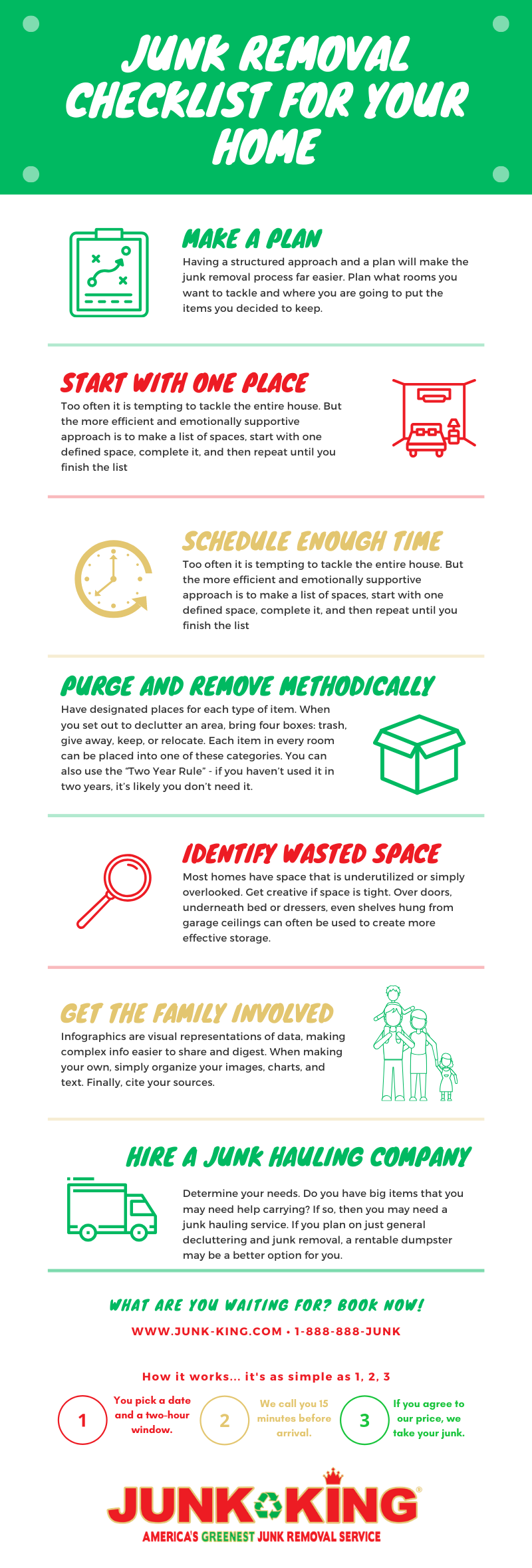 Junk Removal Checklist for Your Home