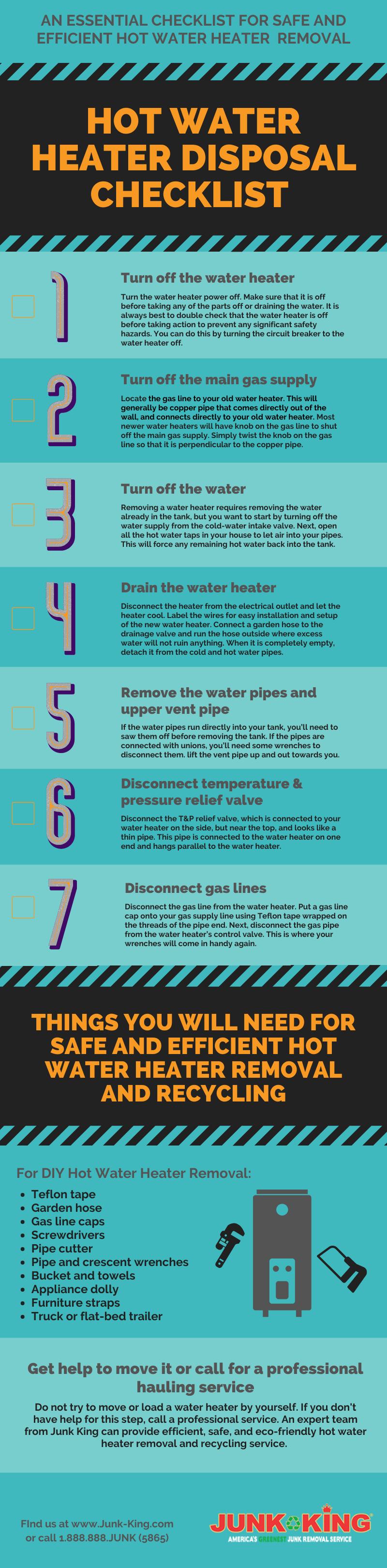 hot-water-heater-disposal-checklist