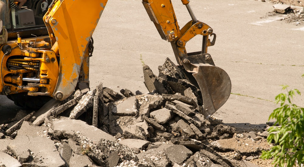 Construction Waste Removal And Concrete Debris