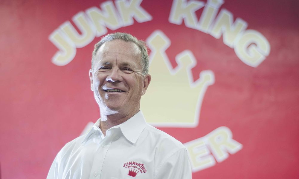 Junk King's Paul Durant Named a Franchisee Rockstar by Franchise Business Review