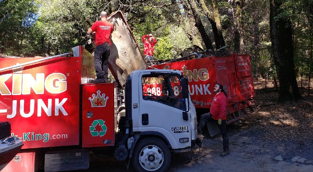 Wear Red Day: Doing Good By Hauling Junk